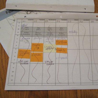 планировать неделю