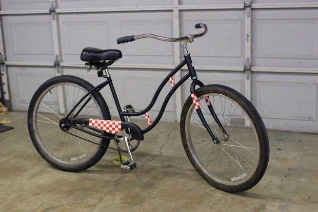 покрасить велосипед