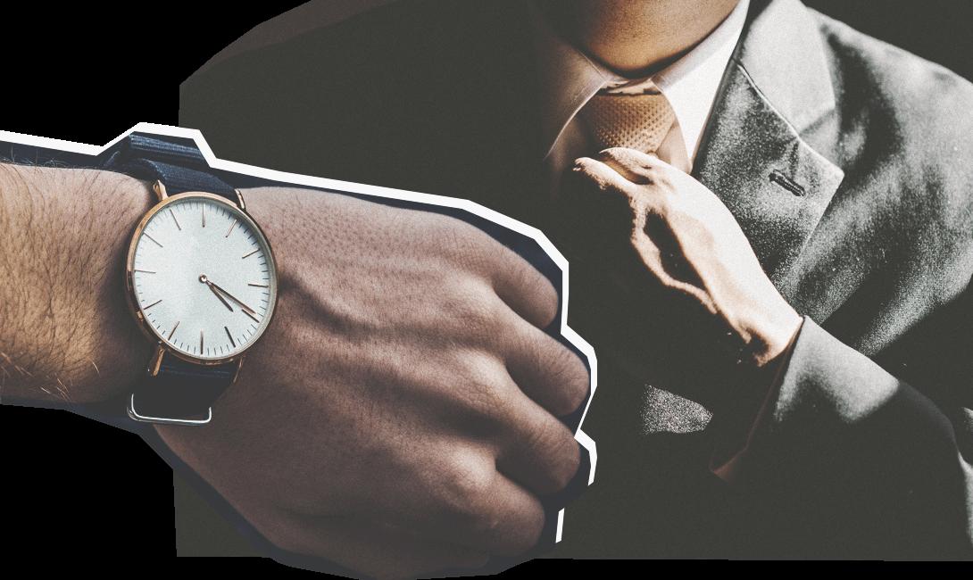 Нельзя опаздывать на собеседование, изображение мужского журнала brodude