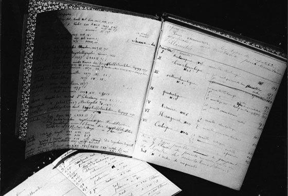 записи марии кюри