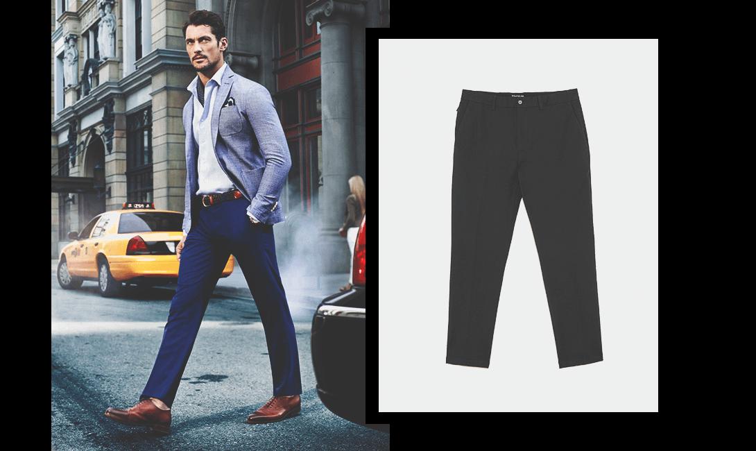 Мужские брюки, картинка мужского журнала brodude