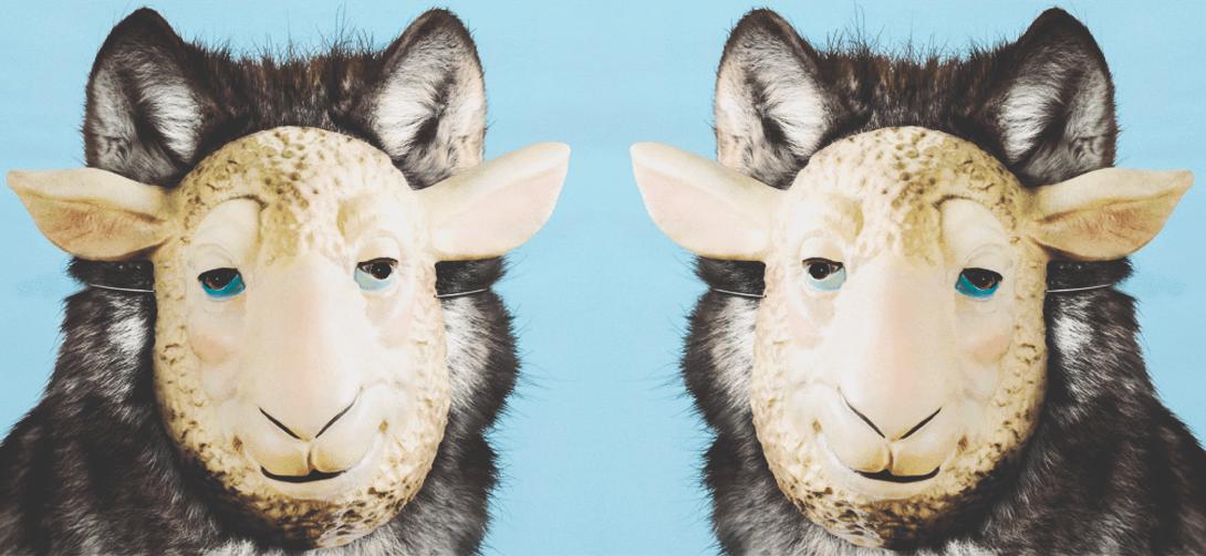 Волк в овечей шкуре, картинка в мужском журнале brodude.ru