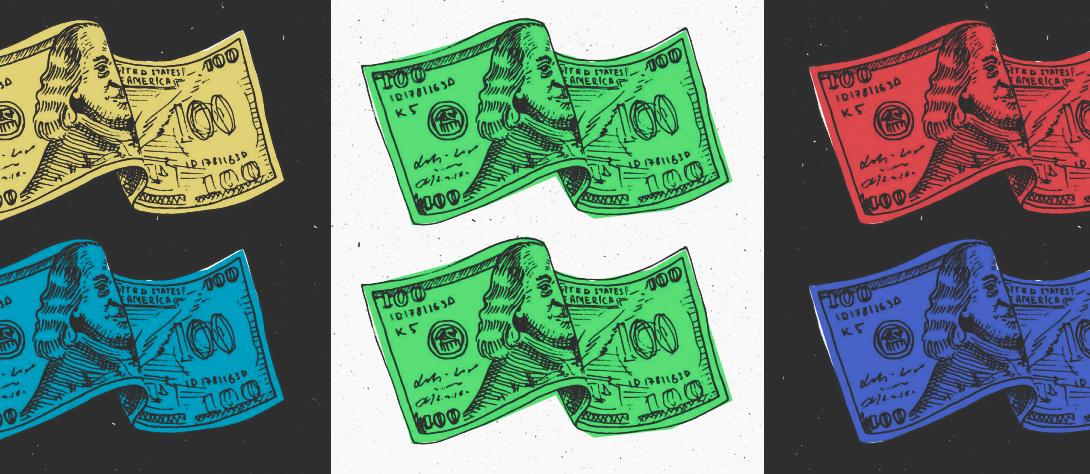 100 долларовая банкнота, 100$