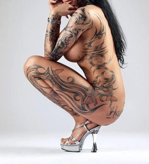 Tattooed mature women pictures
