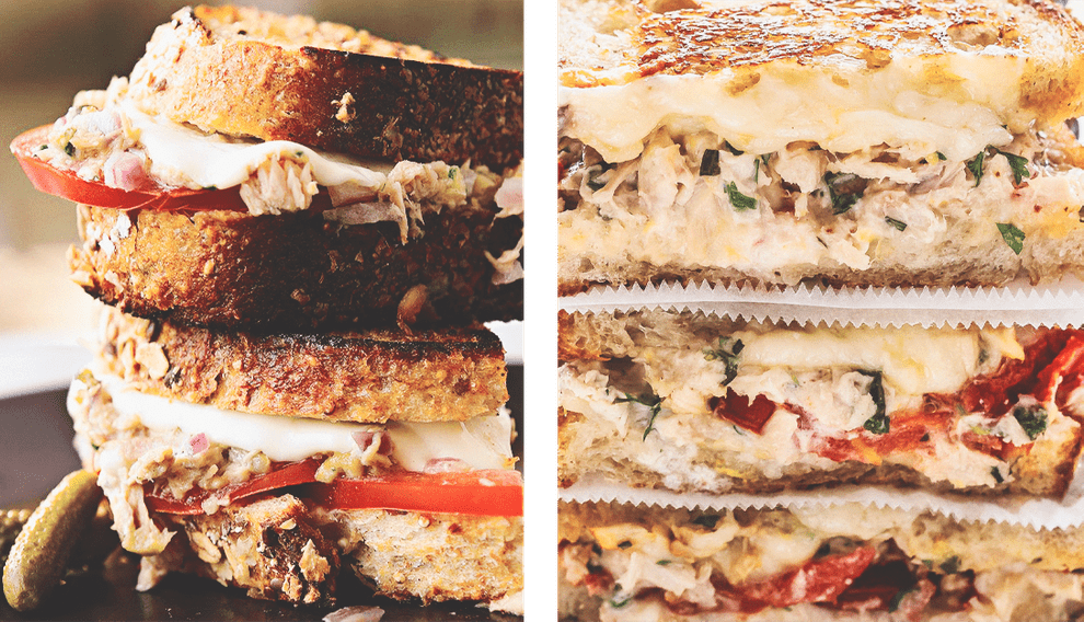 Сэндвич с тунцом и авокадо - Бутерброды и сэндвичи