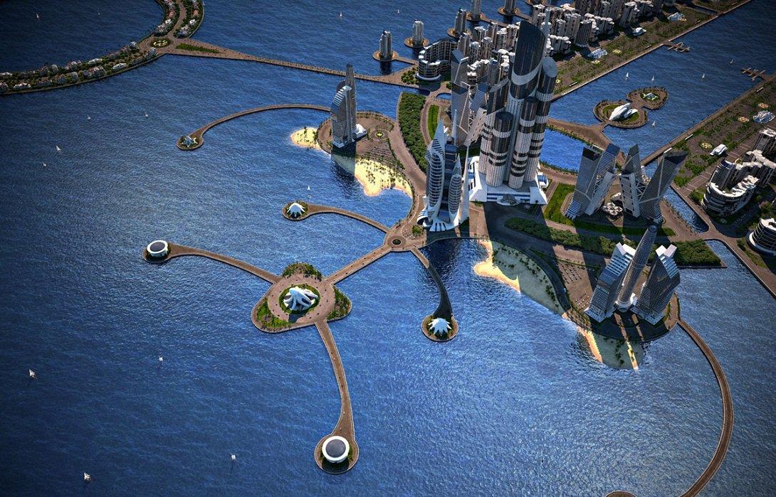 Искусственный архипелаг, Азербайджан, проект