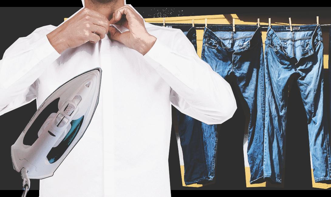 Лайфхаки для холостяков как стирать и гладить вещи