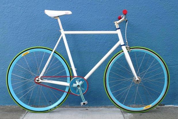 красить велосипед
