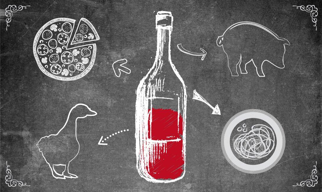 Чем закусывают красные вина
