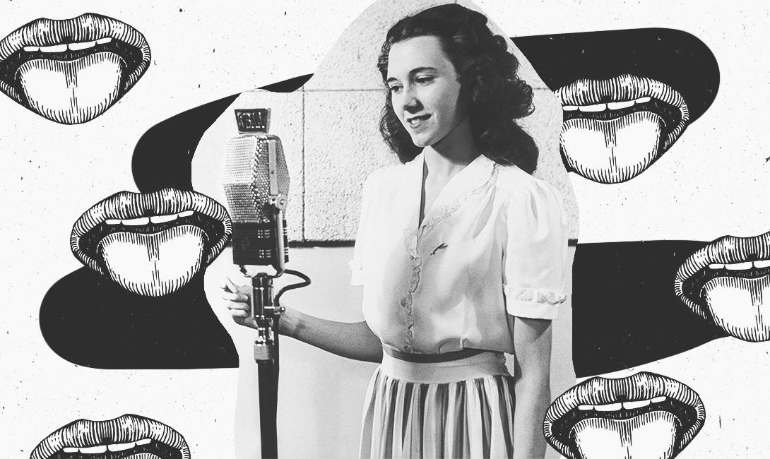 Девушка может зацепить тебя приятным голосом, изображение brodude