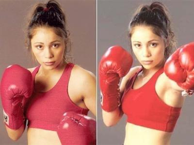 Девушки в боксе. Фото 10